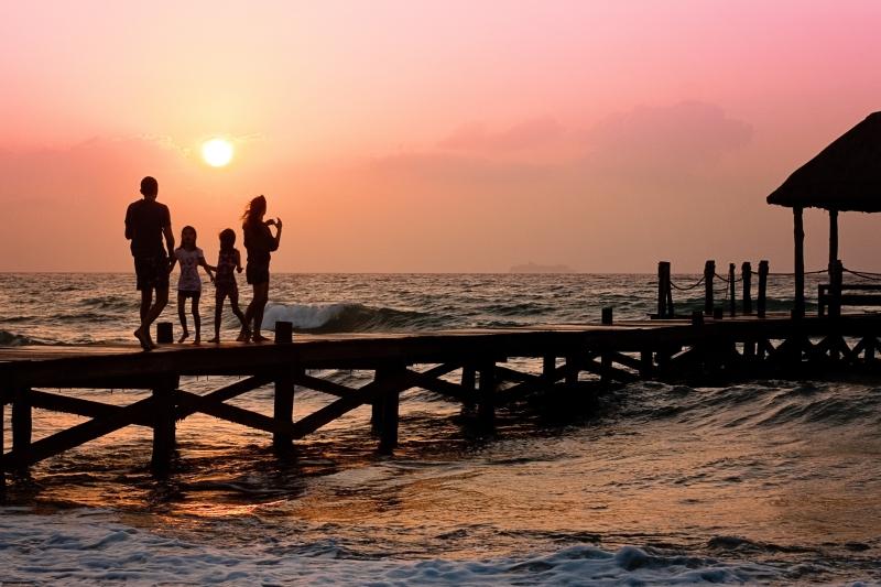 gezin, reizen