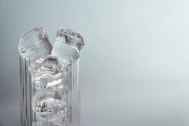 ijs, glas, drankje