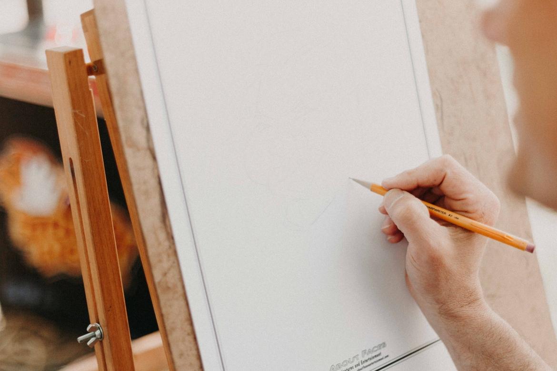 kunst, artiest, tekenen, schilderen