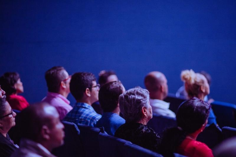 publiek, luisteren, lezing