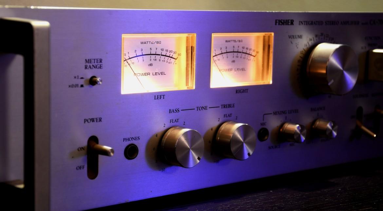 versterker, muziek, geluid, volume, frequentie, signalen