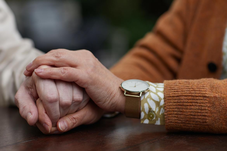 relatie, partners, handen vasthouden