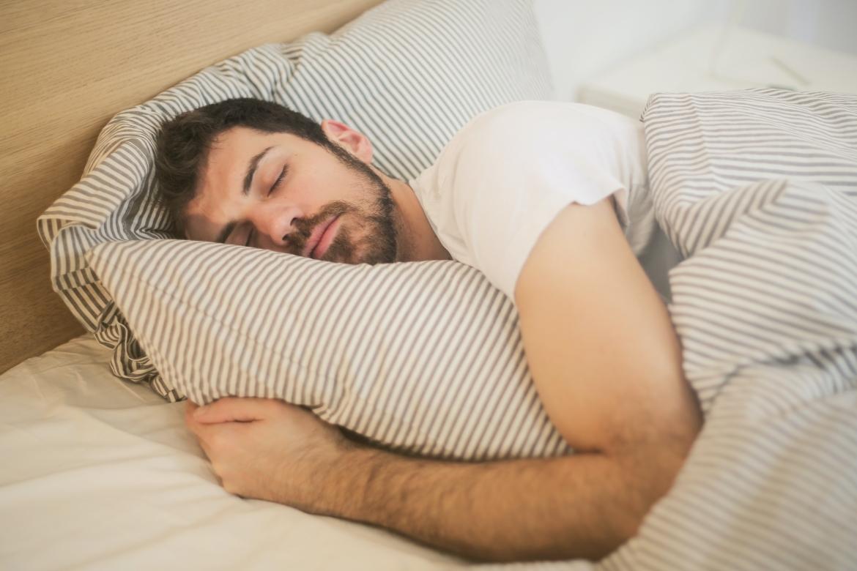 Slapen, uitrusten, opladen, winterdip