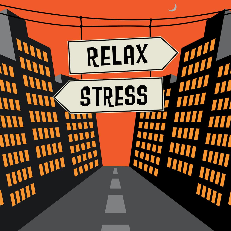 stress, overspannen, burn-out, ontspannen, relax, chill