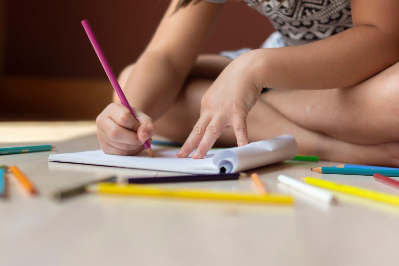 tekenen, tekening, kleuren, kind