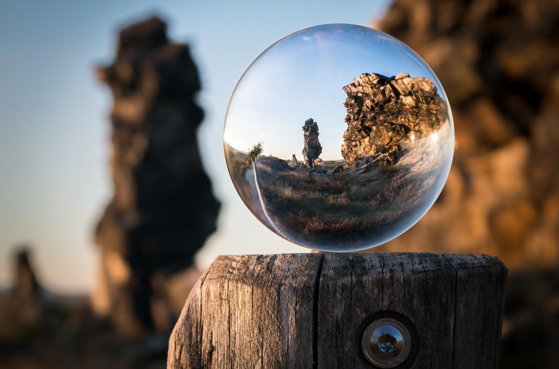uitzoomen, inzoomen, perspectief, bubbel