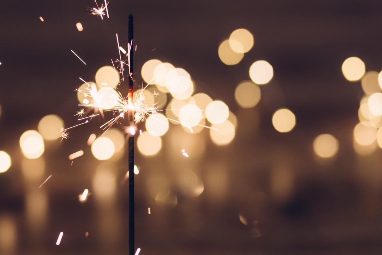 vuurwerk, sterretje, vuur, magie