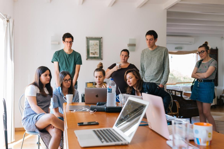werk, team, kantoor, overleg, meeting