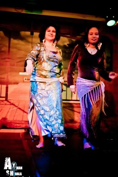 Baladi buikdans sensueel en vrouwelijk