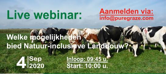 Webinar - Welke mogelijkheden bied Natuur-inclusieve Landbouw?