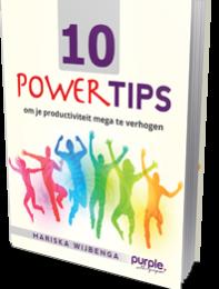 ebook 10 powertips Purple. Leiderschapsontwikkeling
