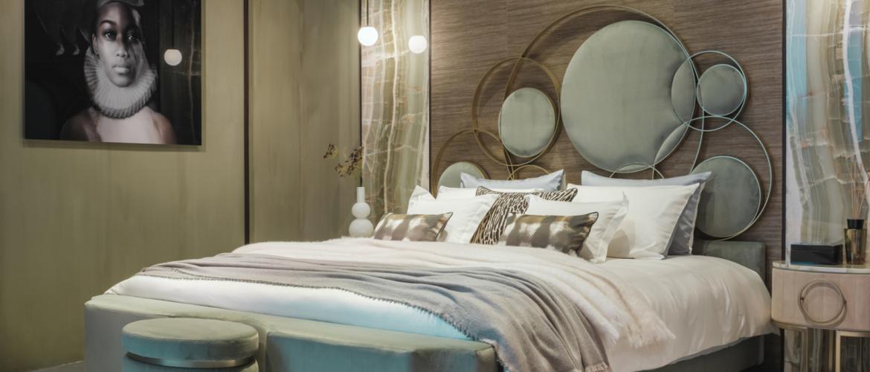 Haute couture in de slaapkamer met het nieuwe Nilson Jewels bed