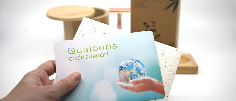 Qualooba cadeaukaart, zelfs de verpakking is een kadootje!