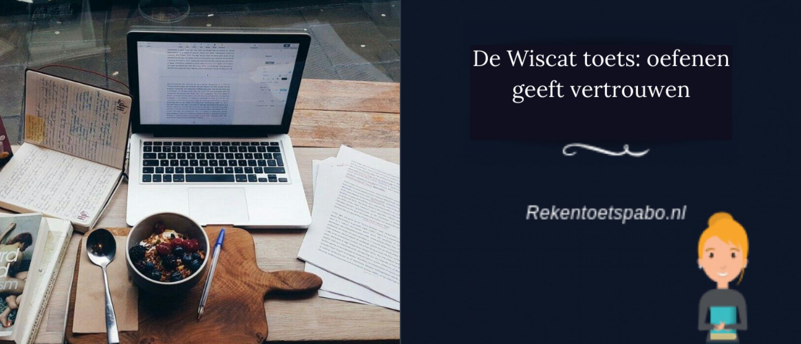 De Wiscat toets: oefenen geeft vertrouwen