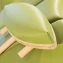 Aansteekdelen voor ergonomisch werken aan massagetafel