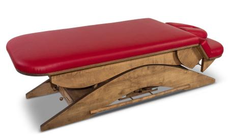 Basic Massagetafel in de lage stand