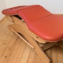 bekkendak positie voor massagetafel