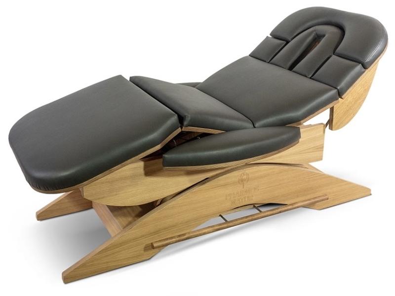 Relax Sensation Massagetafel model Pro met halfzit functie