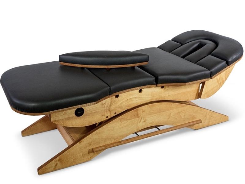 Relax Sensation Massagetafel model Pro praktisch in gebruik