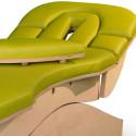 massage-tafel gepatenteerd hoofdgedeelte