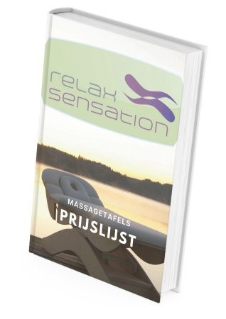 Prijslijst Relax Sensation Massagetafels