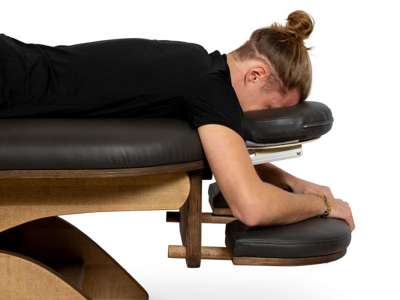 Simplex massagetafel armsteun level 3