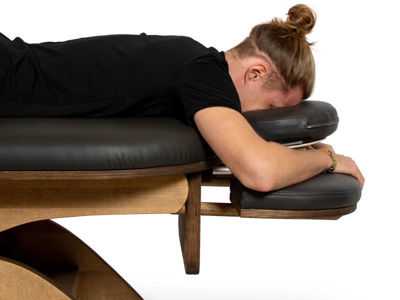 Simplex massagetafel armsteun level 1