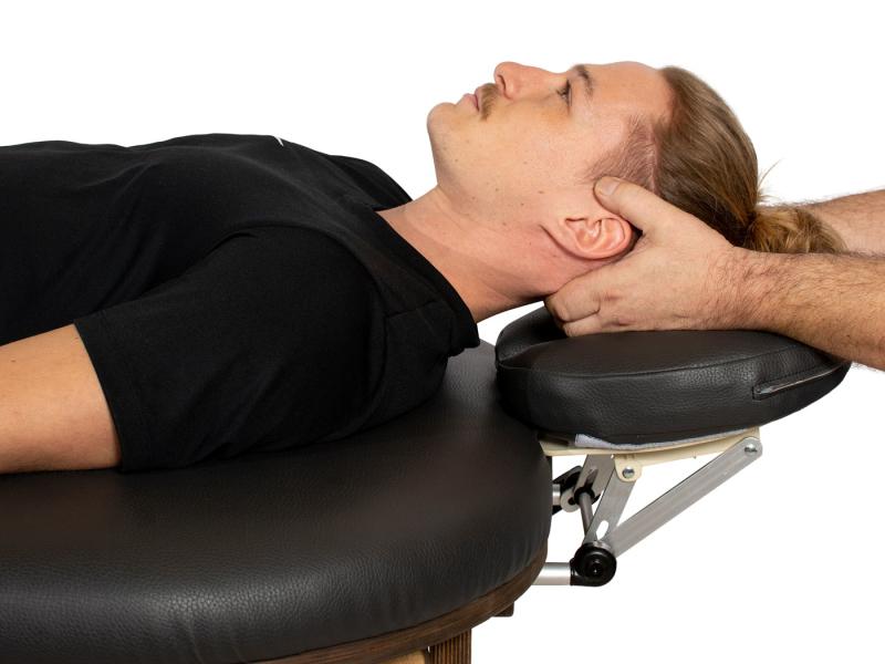 Hoofdsteun van de Simplex Massagetafel