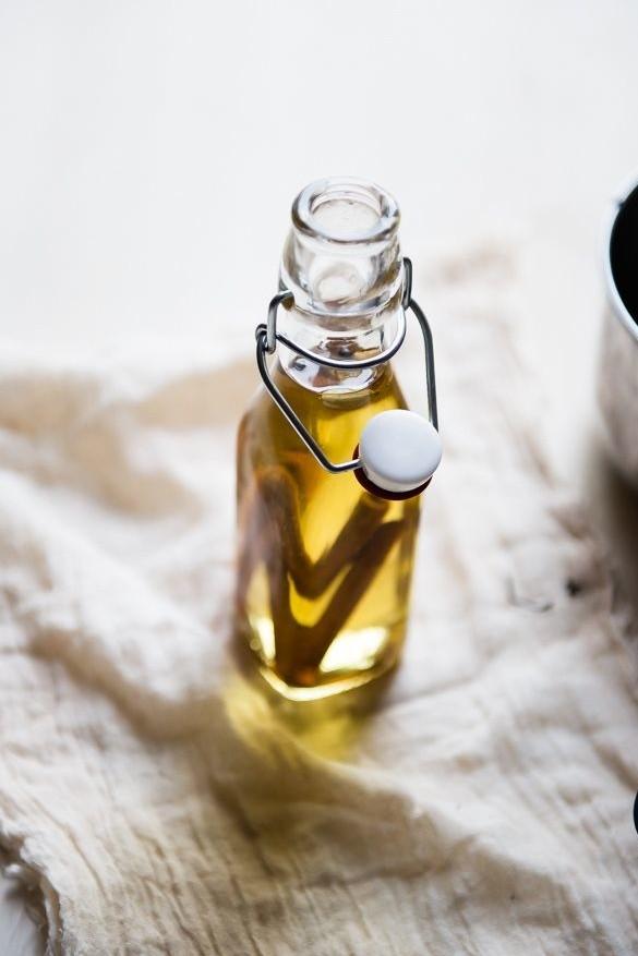 Verwarm de massage olie voor meer ontspanning