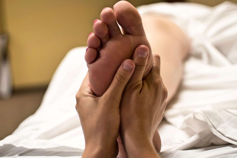 Voetreflex massage is vaak een betaalbare massage