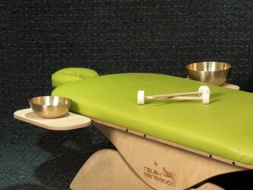 massage tafel hoogte verstellen