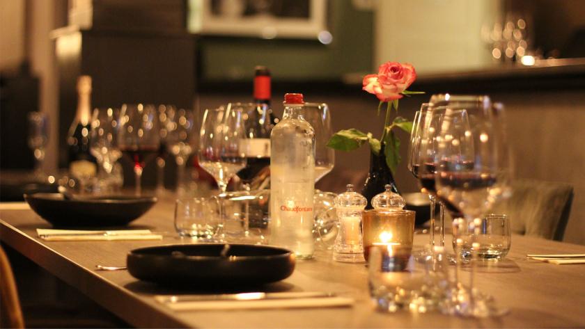 Restaurant Beleef Vught Tafel Wijnglazen Borden