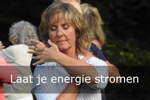 laat je energie stromen