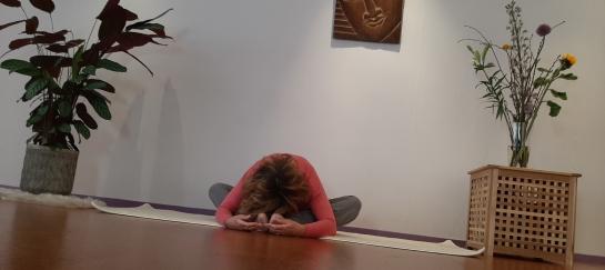 Yin yoga en ademsessie