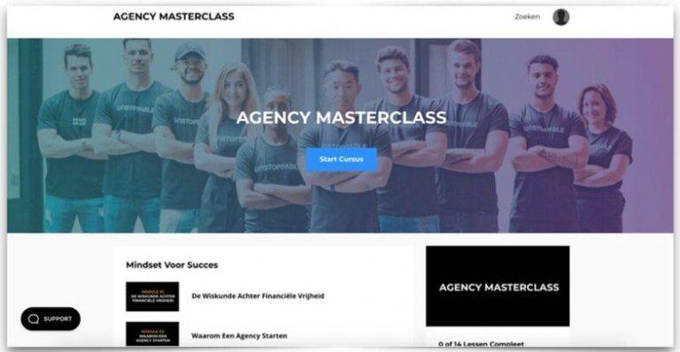 Agency masterclass review - Mock-222