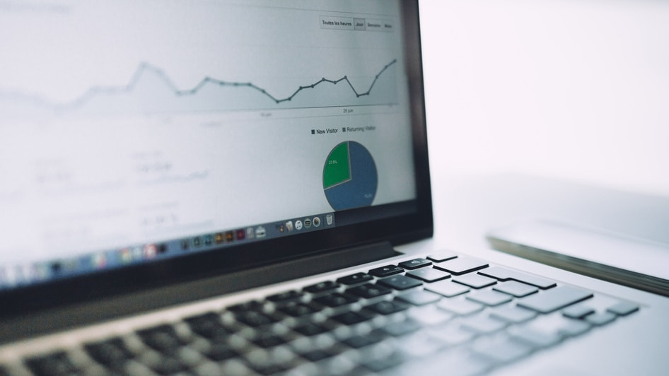 content marketing cursus review - Groeiend aantal bezoekers graph