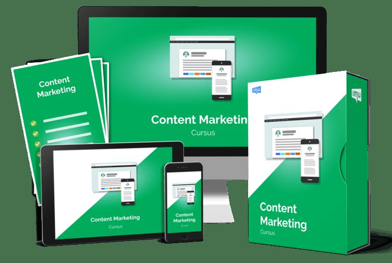 content marketing cursus review - pakketoverzicht