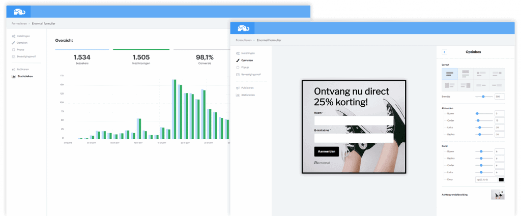 Enormail review - email marketing voor ondernemers