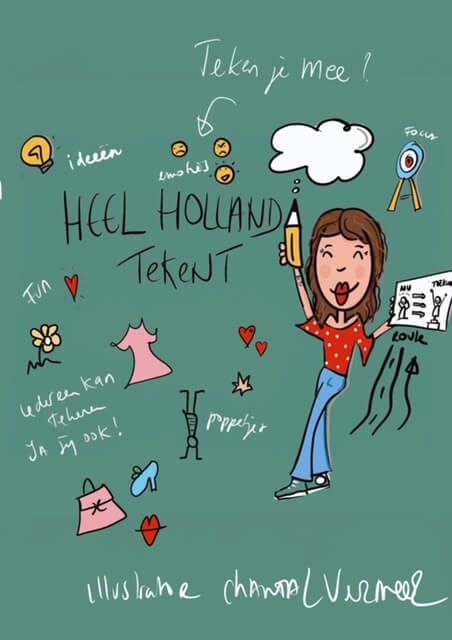 Heel Holland Tekent review - Illustratie
