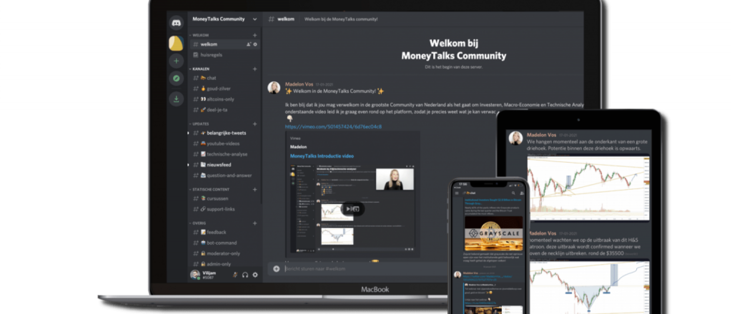MoneyTalks Community review en ervaringen van Madelon Vos