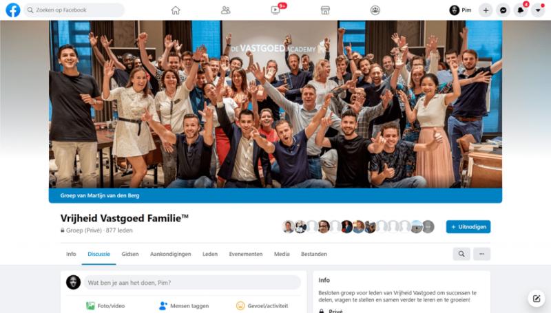 Vrijheid Vastgoed review - Vrijheid Vastgoed Family Facebookgroep