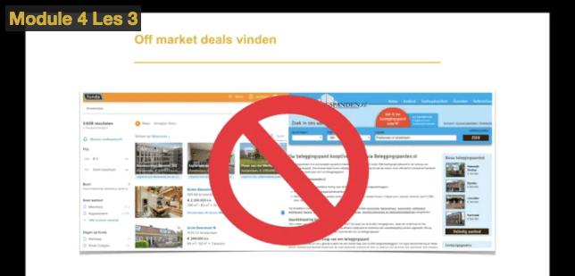 Vrijheid Vastgoed review - Off market deals vinden