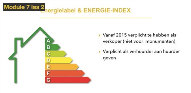 Vrijheid Vastgoed review - Energielabel