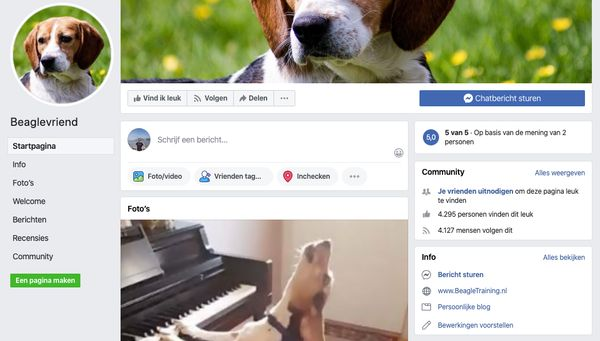 facebook recensie beagle geheimen