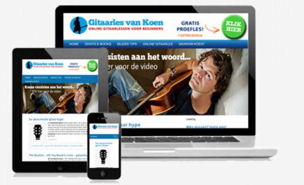welke gitaar cursus online volgen