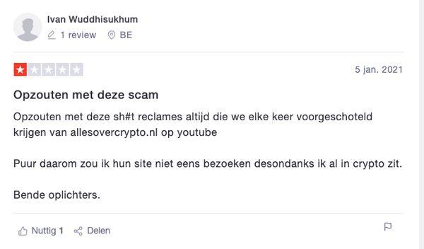 scam recensie crypto masterclass