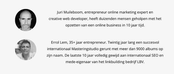 Juri Muileboom Errol Lem cursus google