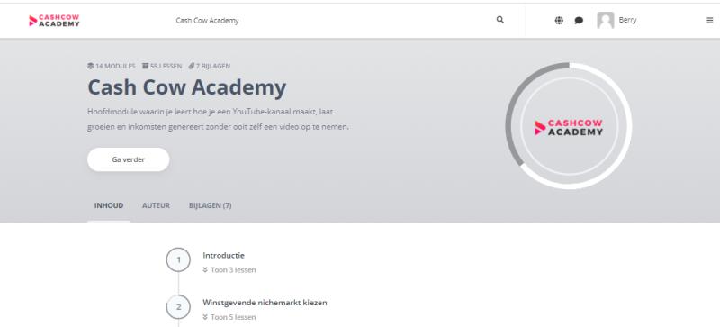 cash-cow-academy-content-dashbord-modules