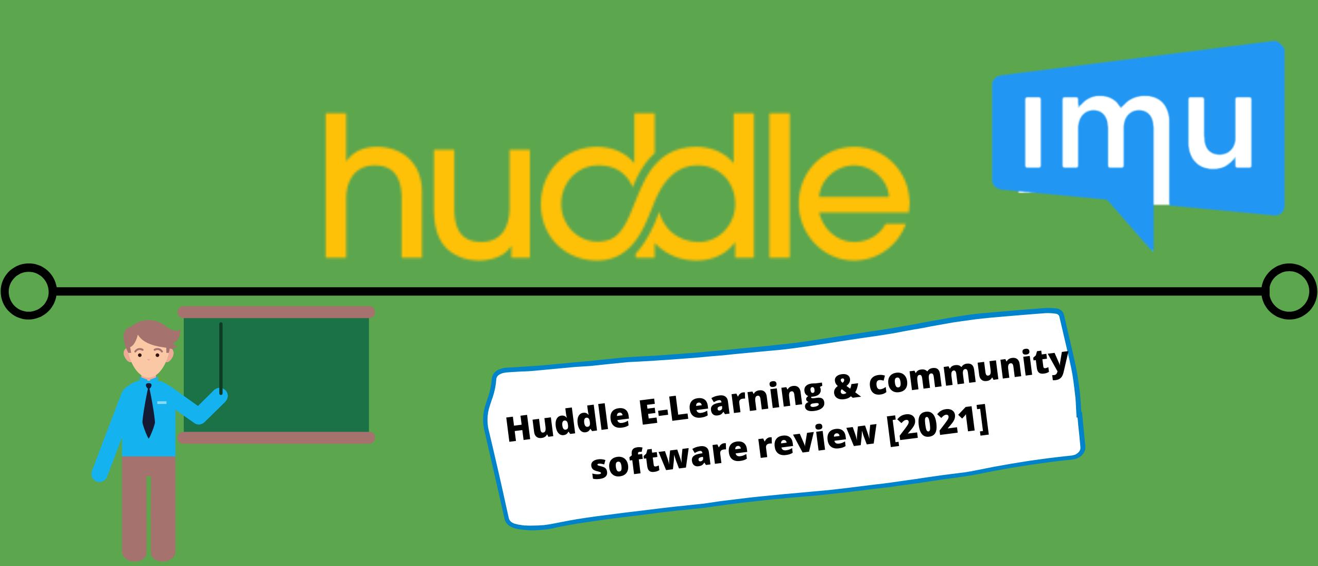 Huddle E-Learning & community software review [2021] 14 Dagen gratis