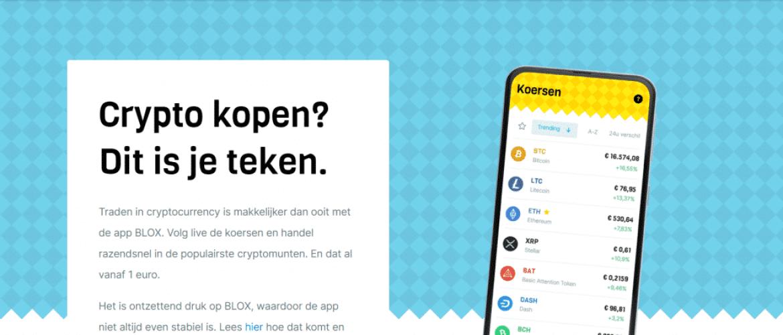Investeren in Bitcoin met BLOX